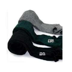 Korea Hot elastic twist rib thick colored knitted cotton socks step foot - dark green ( 6215 )