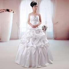 Princess wedding dress formal dress new arrival 2013 tube top bow bride wedding 82076 - 2