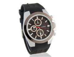 Men's Stylish Water Resistant Analog Watch (Black) M.