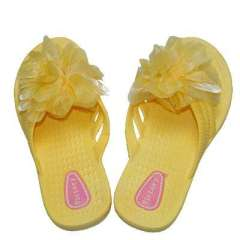 Summer sandals - flowers Ms. bathroom slippers / slip home drag - Yellow