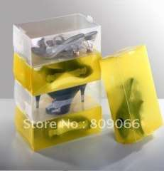 ECO freindly transparent PP shoes Boxes