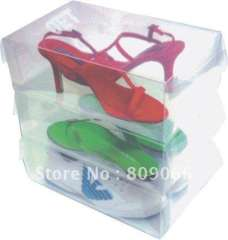 plastic clear PP shoes packing
