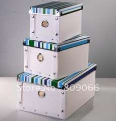 Eco-friendly PP collection bin, PP transparent box, transparent clear plastic folding storage, packaging box