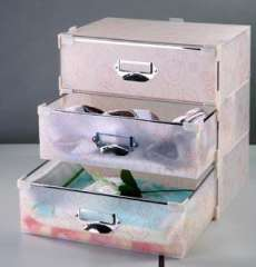 Eco-friendly PP MIni drawer box, 3 piece for one suite drawer box made by PP material