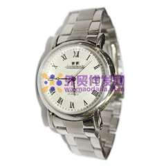 Luxury Dial Stainless Steel watchband wrist Automatic Mechanical Watch