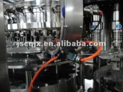 carbonated beverage producing line