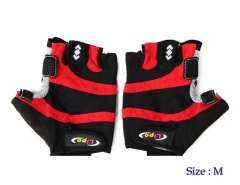 41452 Novel Design Bicycle\ Cycling Gloves Middle Size (Red)