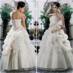 Sweet bride tube top new arrival 2013 brief princess wedding dress