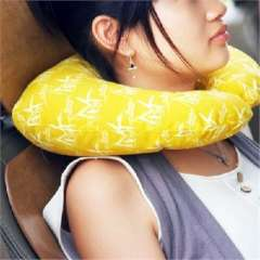Wellcome charcoal comfortable travel pillow ( 004 ) random color