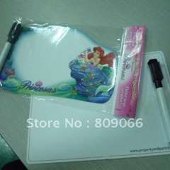 promotion Glossy lamination magnetic writing board with marker