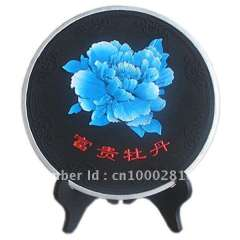 Flower series charcoal carving art \activated carbon carving crafts\indoor air cleaner\Dish display