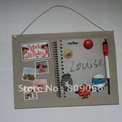 2012 NEW children education magnetic writing board with marker and fridge magnet