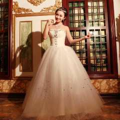 2012 tube top sweet princess straps wedding dress ff00673