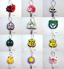 Key assistant----promotion soft rubber key holder with customer logo