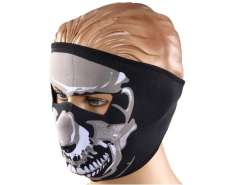 Cool Ghost Design Riding Mask Outdoor Riding Equipment (Black)