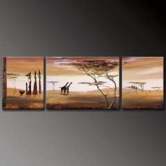 Fashion handmade abstract oil painting frameless OIL0021