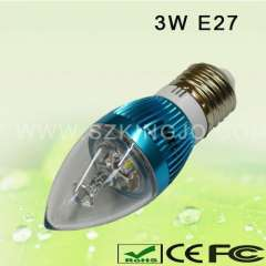 Low Power 3W LED Candle Bulb E27