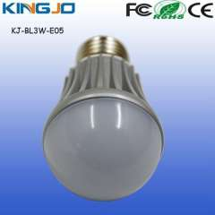 Warm white, ac85-265v E27, E26, B22. 3w lamp led