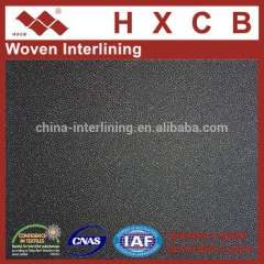 5812)100%Polyester Woven PA Coated Fusible Interlining Fabric