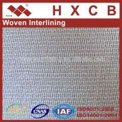 3510)100%Polyester Warp Knitting Double Dot Fusible Interlining For Shirt&Clothes