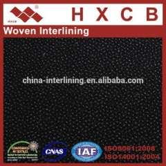 7815)75D Polyester Twill Woven interlining Fabric For Garment Accessories