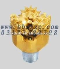 4 1\2' Steel tooth Tricone rock drill bit for oil drilling
