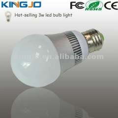 Classical design 3w e27 led bulb with cree chips