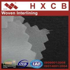 8608)Women' Fashion 20D Thin Soft Fusible Woven interlining Fabric