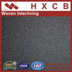 7815)Will Weave Woven Garment Fusible interlining Fabric For Suits 75D Polyestert