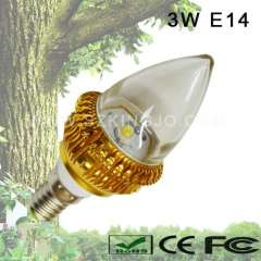 Low Power 3W LED Candleabra Bulb