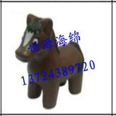 Shenzhen PU toy animal model | PU foam toy pony