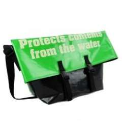 New style green waterproof shoulder bags manufacturer