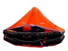 Canopied Open Reversible Inflatable Life Rafts