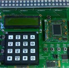 LCD And Keyboard Assembly