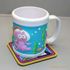 Soft coaster | cartoon coasters | pvc coaster | pvc coaster
