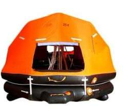 Self righting Davit launched Inflatable Life Raft
