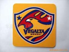 Supply of advertising promotional gifts coasters - can be customized PVC or silicone material
