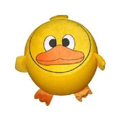 Yellow Duck inflatable stool