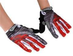 Cycling Gloves Sz L (Red)