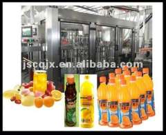 orange juice filling plant