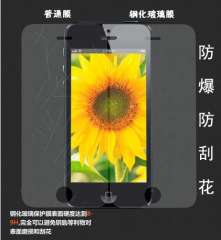Genuine Screen Protector Kare | iphone 5 5s thin glass screen film | steel membrane | Explosion