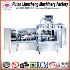 Filling machine manufacturing company and bottle filling capping and labeling machine