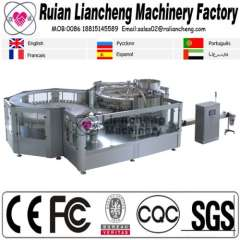 Filling machine manufacturing company and bottling rinsing filling and capping machine