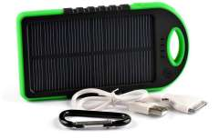 Waterproof 5000mAh Solar Charger for Mobile