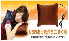 Japanese and Korean style warm heat supply of quality small pillow, USB cushions, hand pillow, USB heating pillow