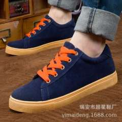 Factory direct 2014 spring new men's canvas shoes | Korean wild fashion shoes casual shoes to help low