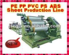 2000 5000mm PP, PE, PVC.PS, ABS sheet extrusion production line