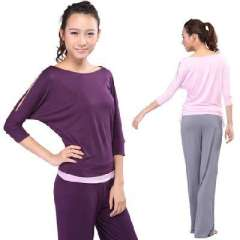 Autumn and winter yoga clothes suit