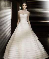 2013 quality elegant sweet princess wedding dress tube top type jywd025 Free Shipping
