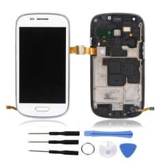 LCD Touch Screen Display Digitizer for Samsung S3 III Mini I8190 Wt Au